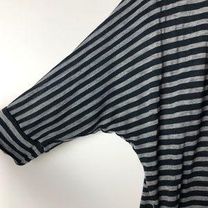 Splendid Tops - SPLENDID dolman sleeve scoop neck striped shirt